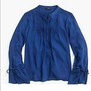 J.Crew chiffon blouse